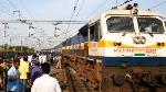 Pallavan Superfast Express derailed near Trichy Railway Junction image
